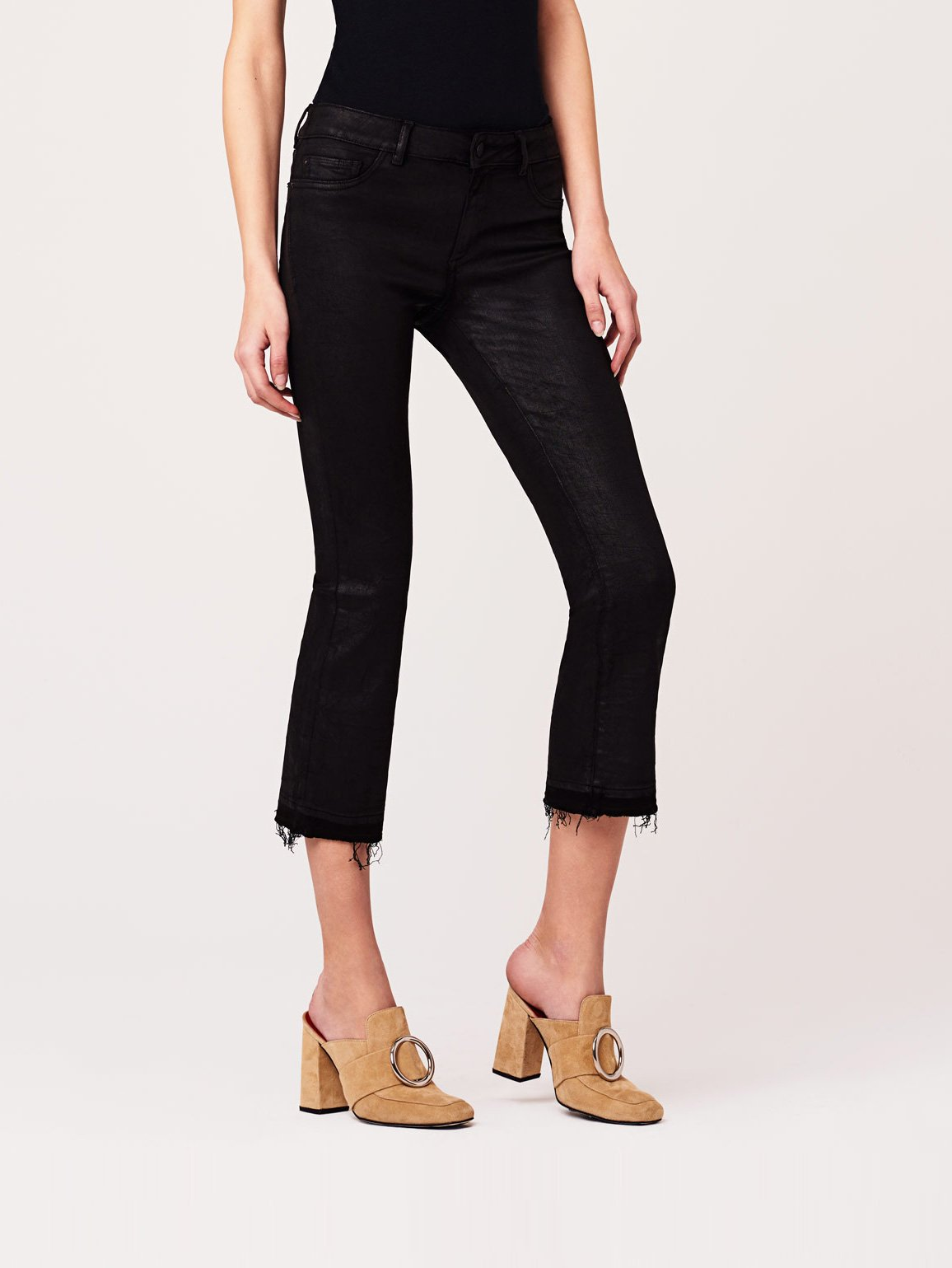Lara Mid Rise Cropped Flare | Harker