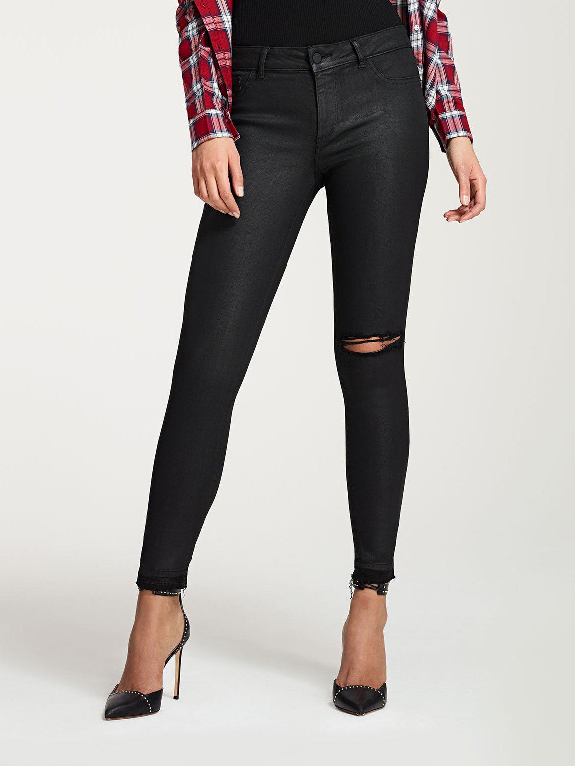 Florence Ankle Mid Rise Skinny | Habasu
