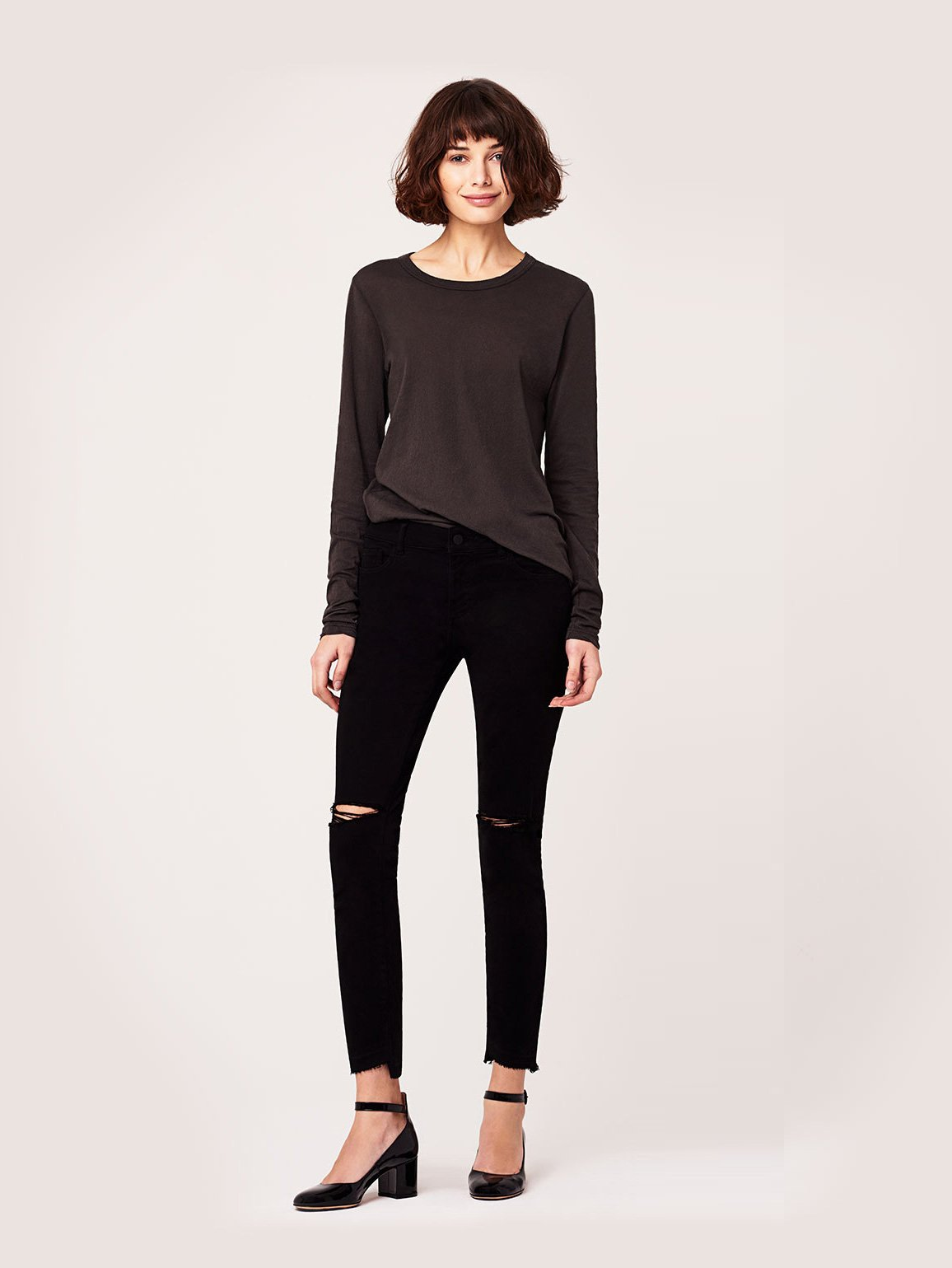 Image of Margaux Mid Rise Ankle Skinny / Electra