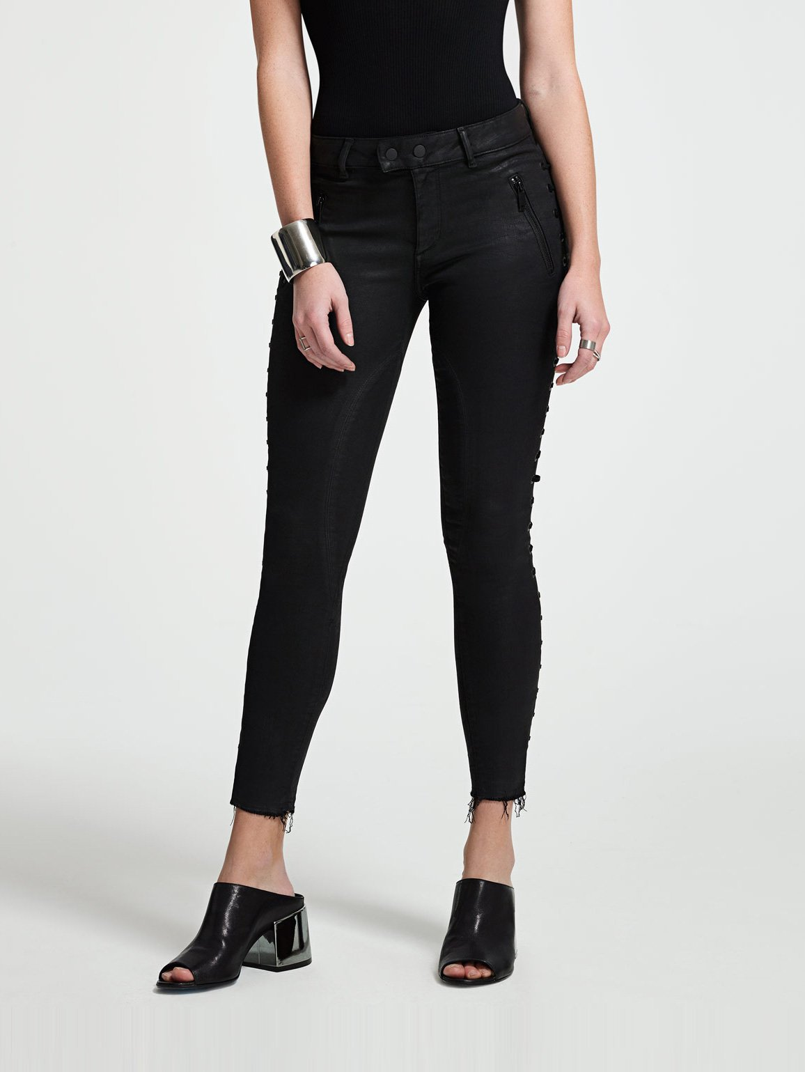 Image of Florence Crop Mid Rise Skinny / Storm