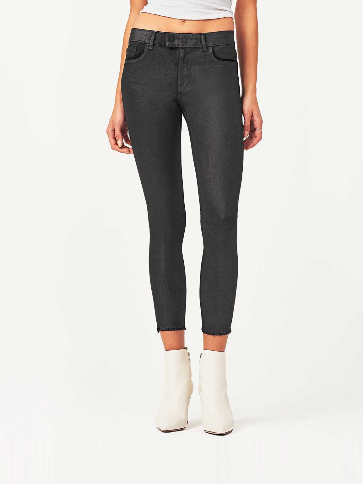 Image of Florence Crop Mid Rise Skinny / Bradshaw