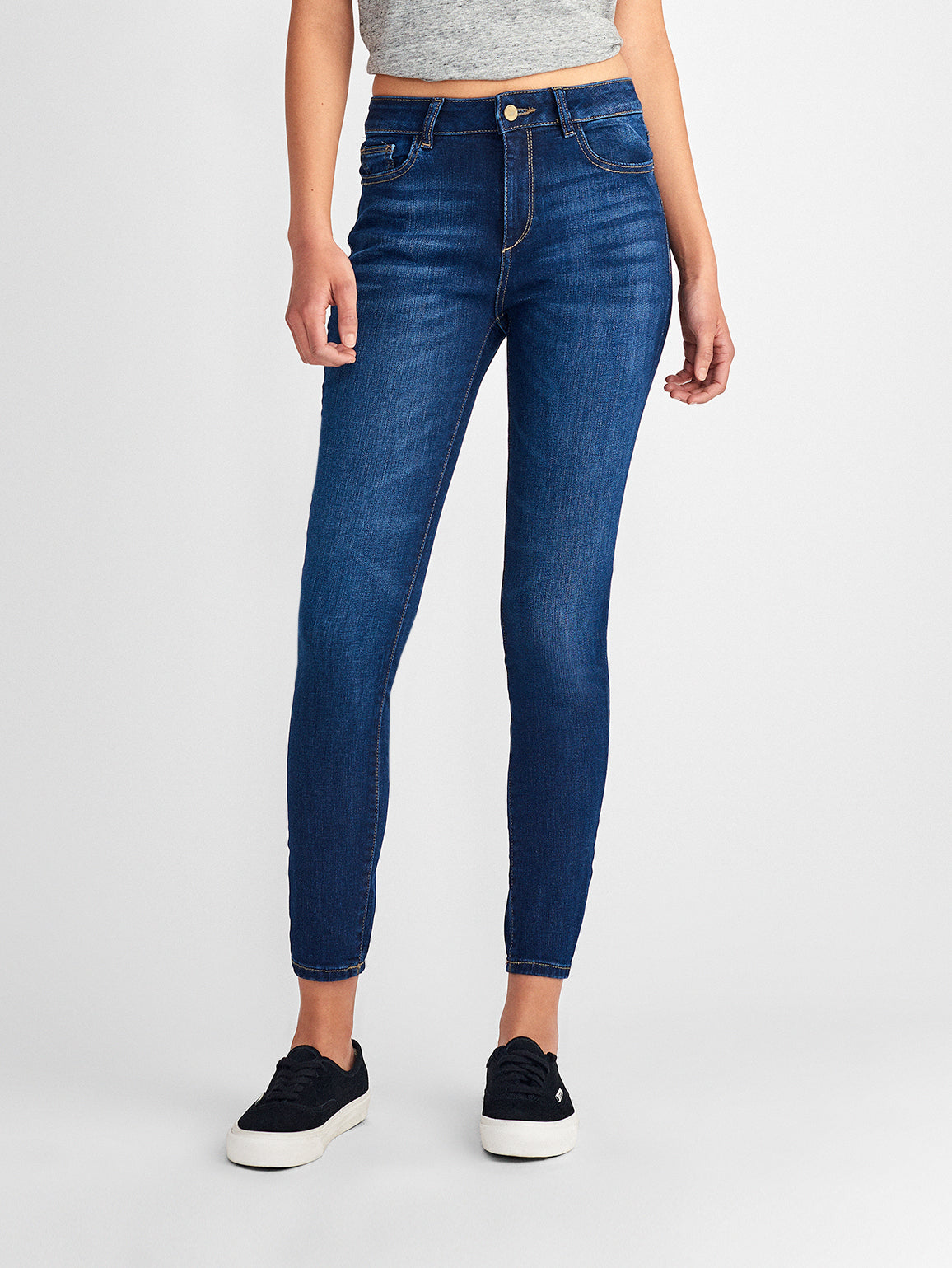 Image of Farrow Ankle High Rise Skinny / Delancy