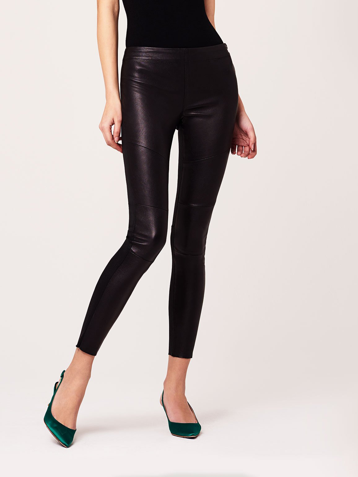 Image of Haven Front Leather Legging / Bronson
