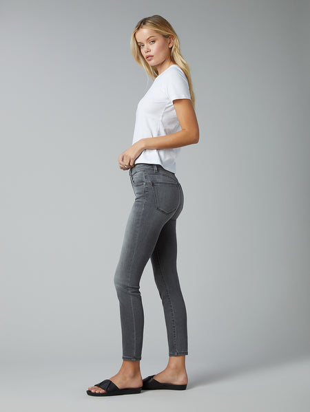 Florence Skinny Mid Rise Instasculpt Ankle | Drizzle