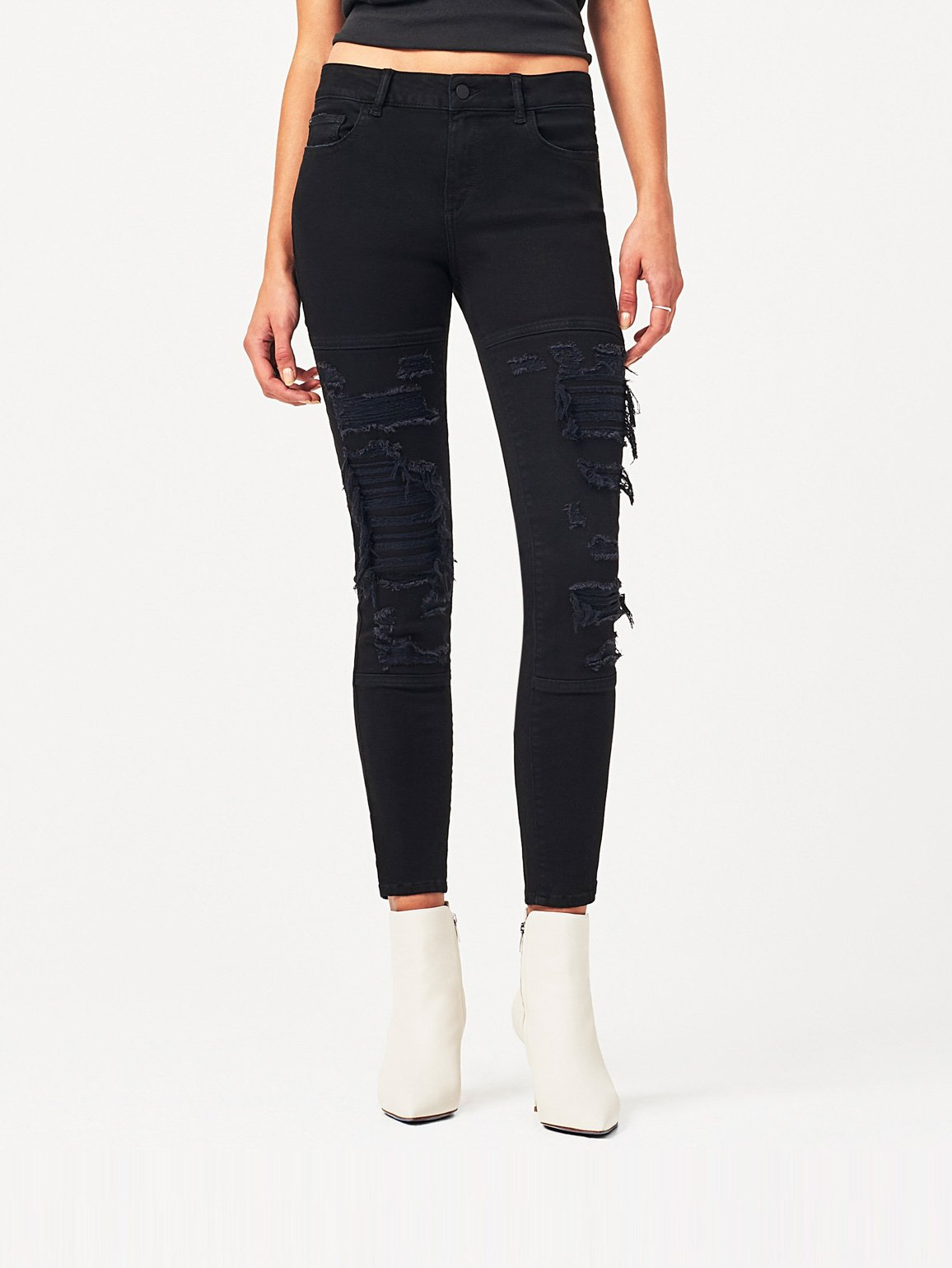 Image of Margaux Mid Rise Ankle Skinny / Spaceship