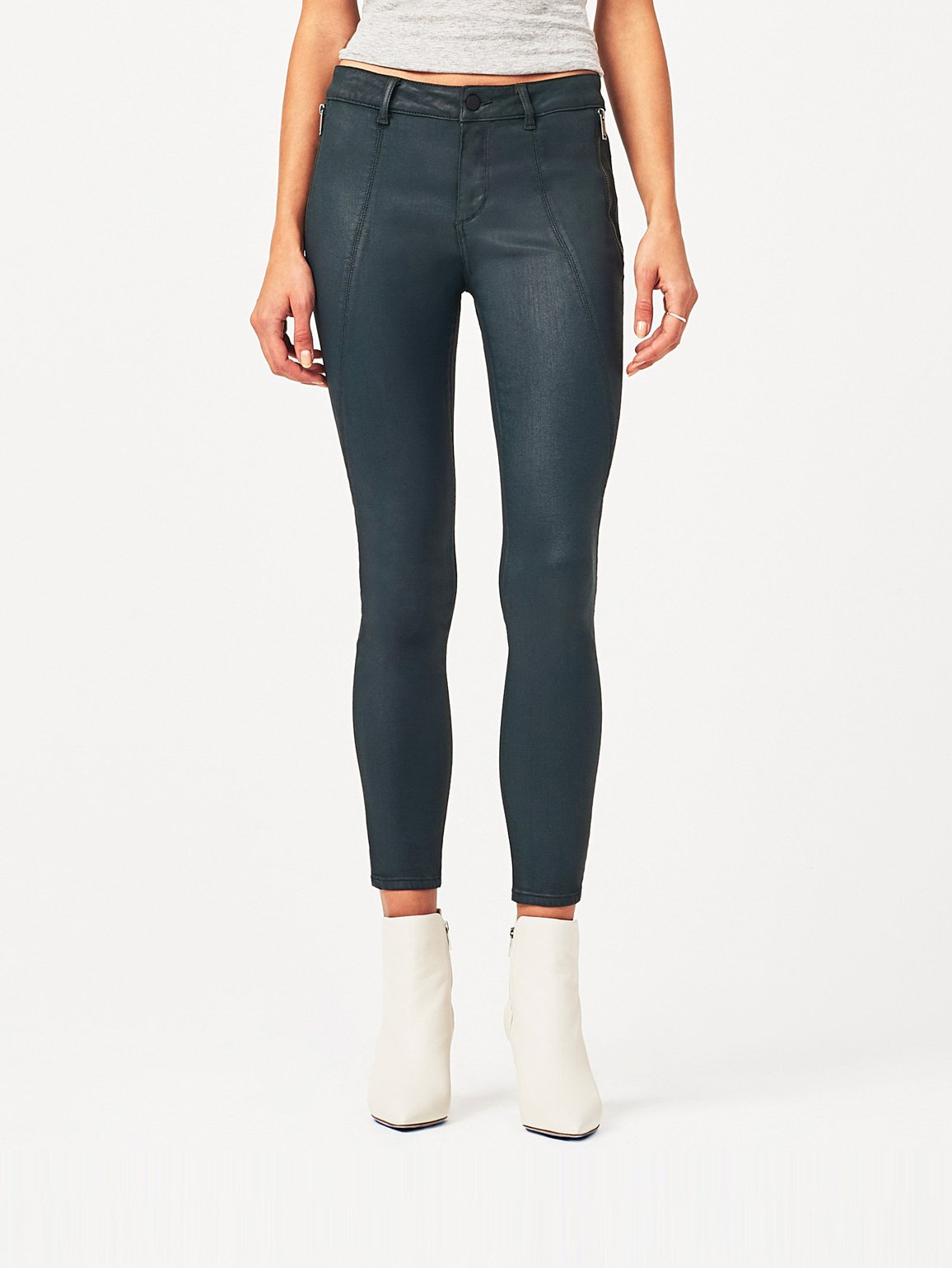 Image of Margaux Mid Rise Ankle Skinny / Ivy