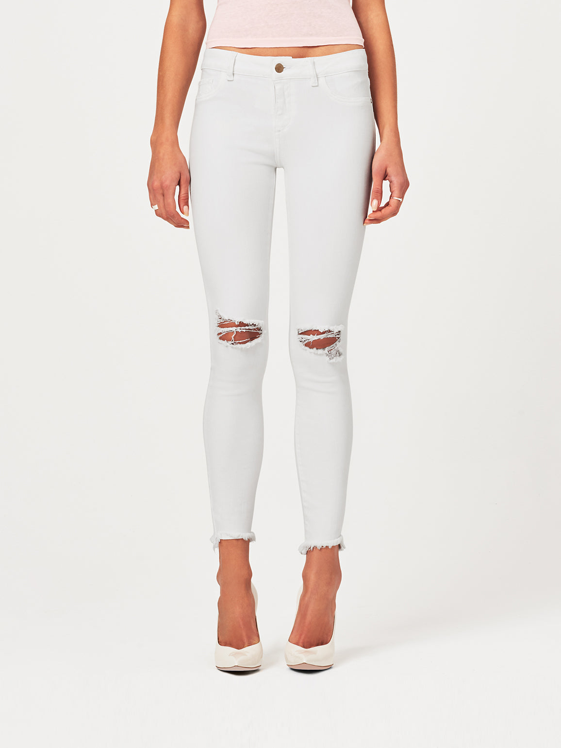 Margaux Mid Rise Ankle Skinny | Newport DL 1961 Denim