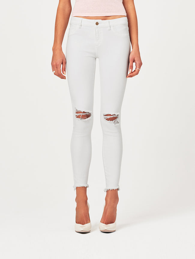 Margaux Mid Rise Ankle Skinny Newport