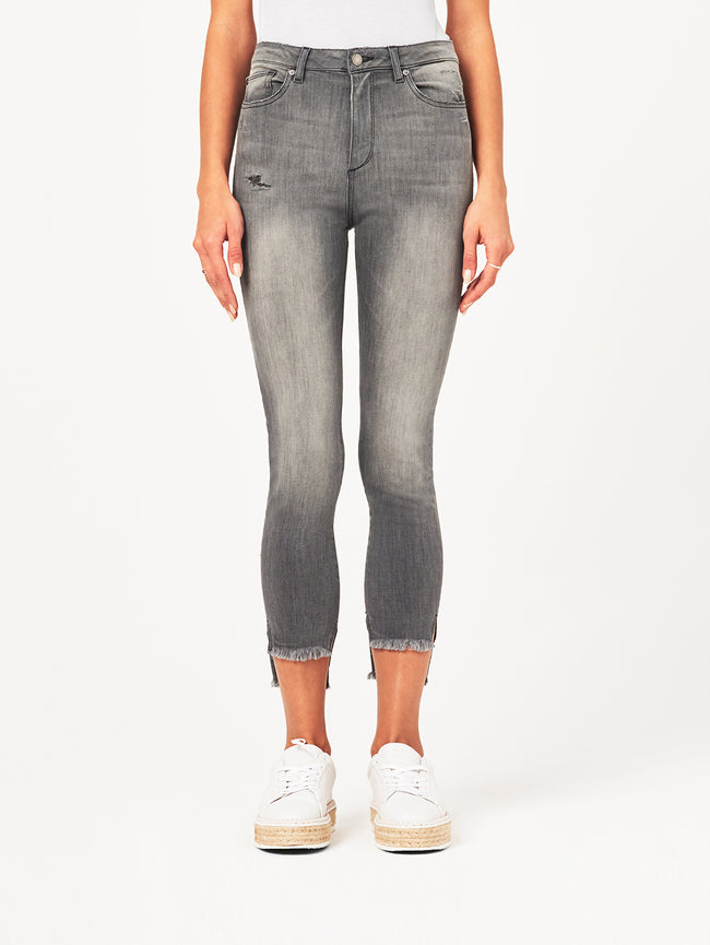 Chrissy Ultra High Rise Skinny | Ashen DL 1961 Denim