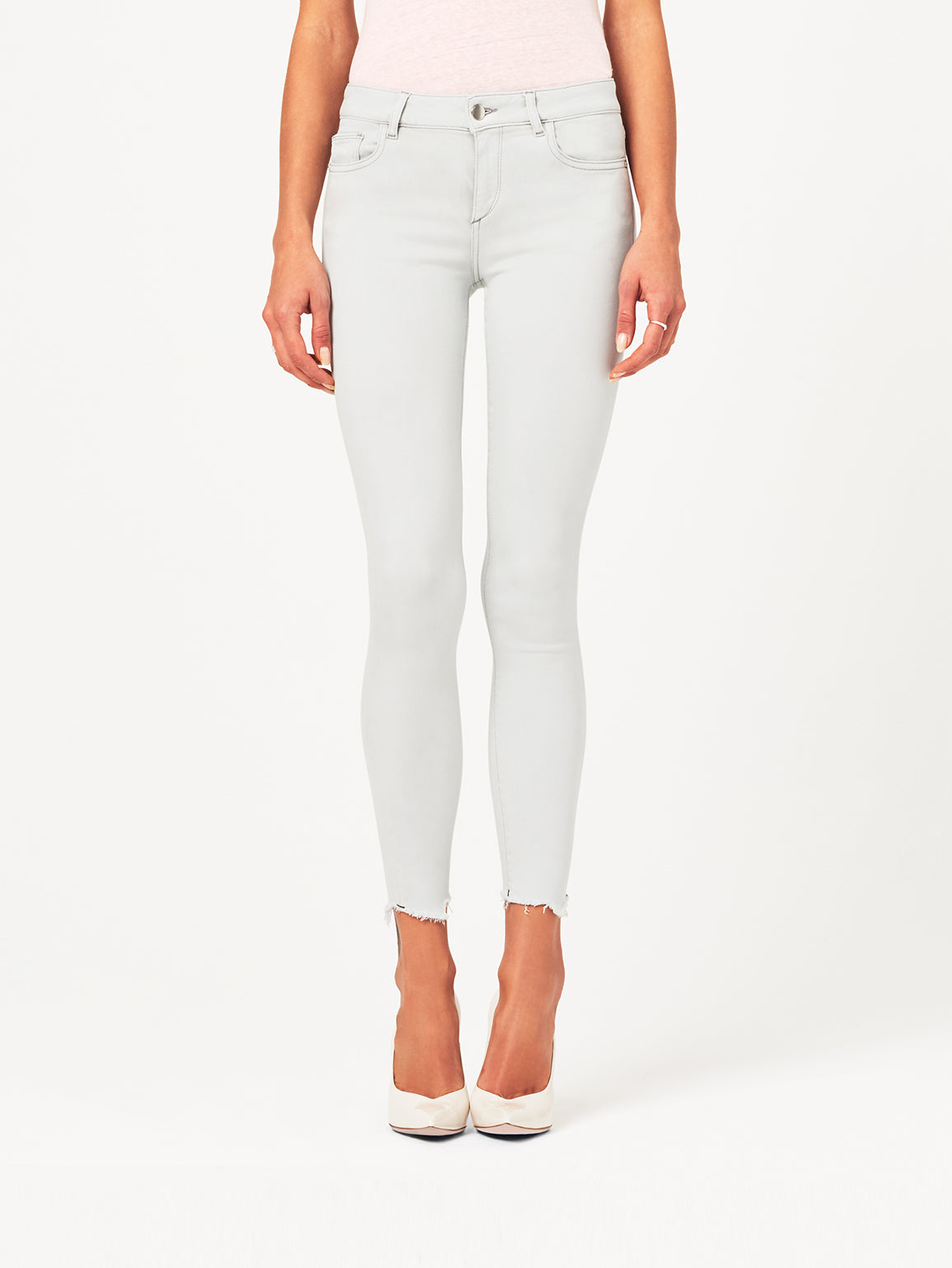 Image of Margaux Mid Rise Ankle Skinny / Edge
