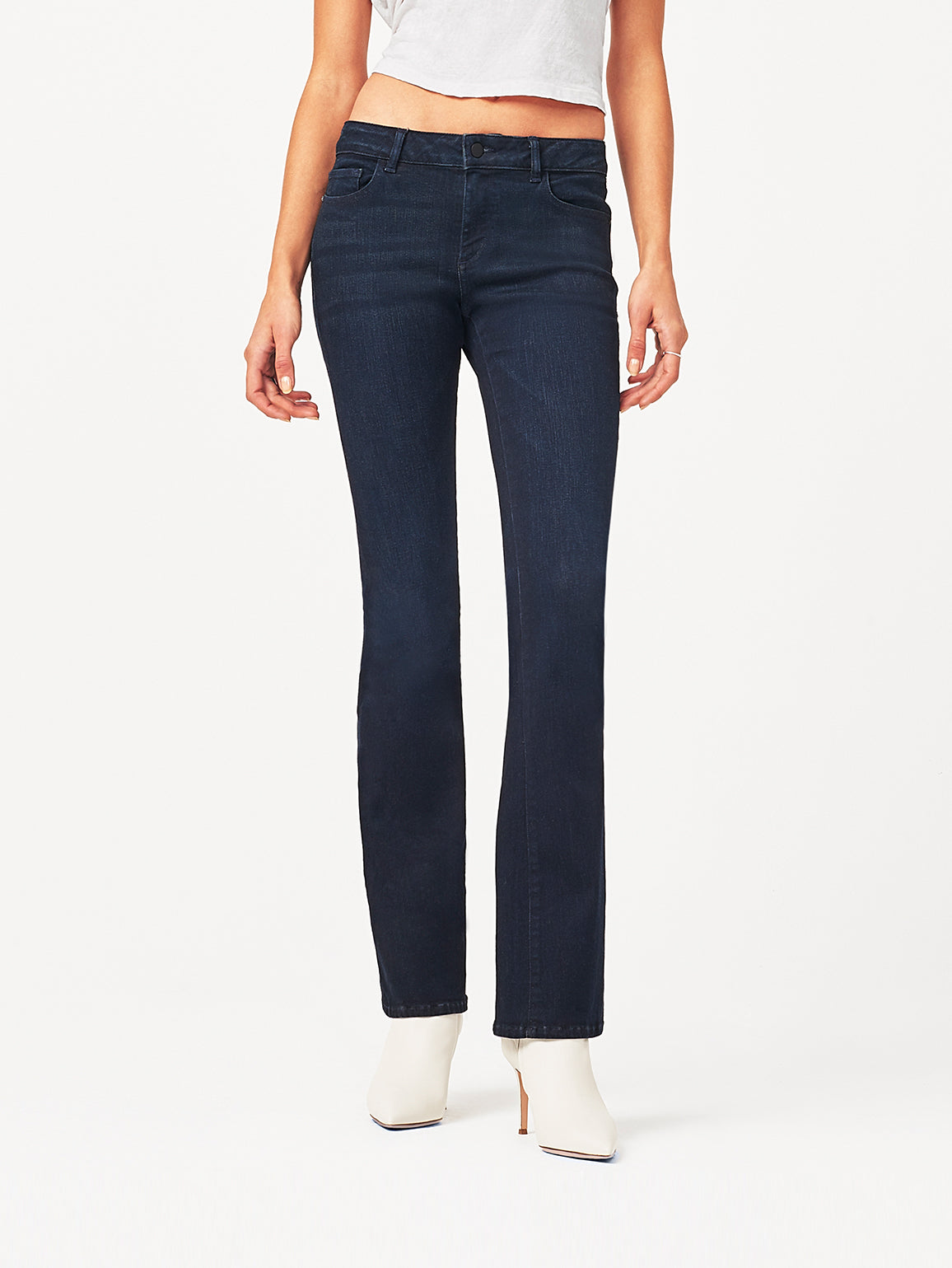 """Image of Bridget Mid Rise Bootcut 33"""" / Carly"""