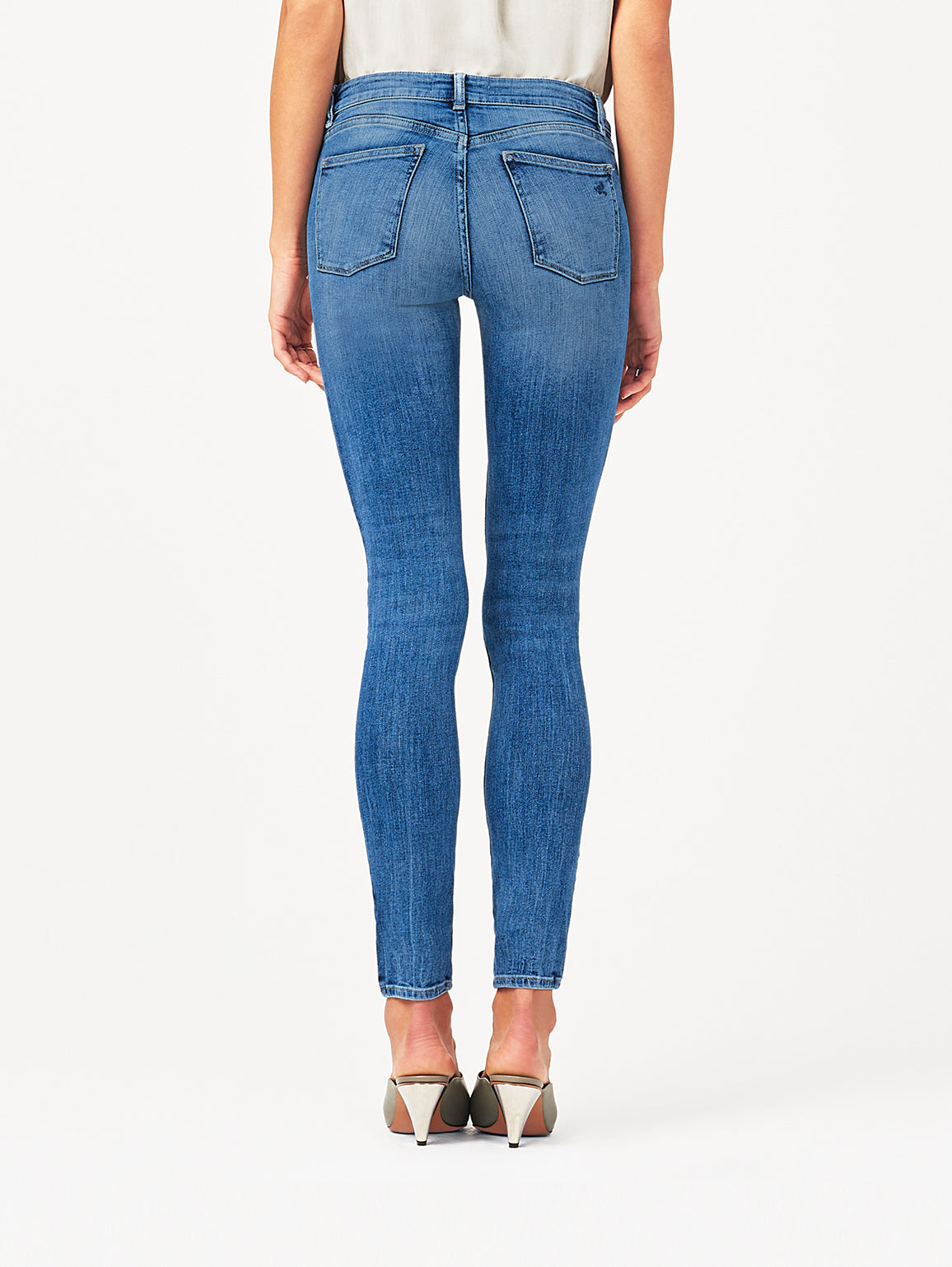Florence Mid Rise Skinny Wells