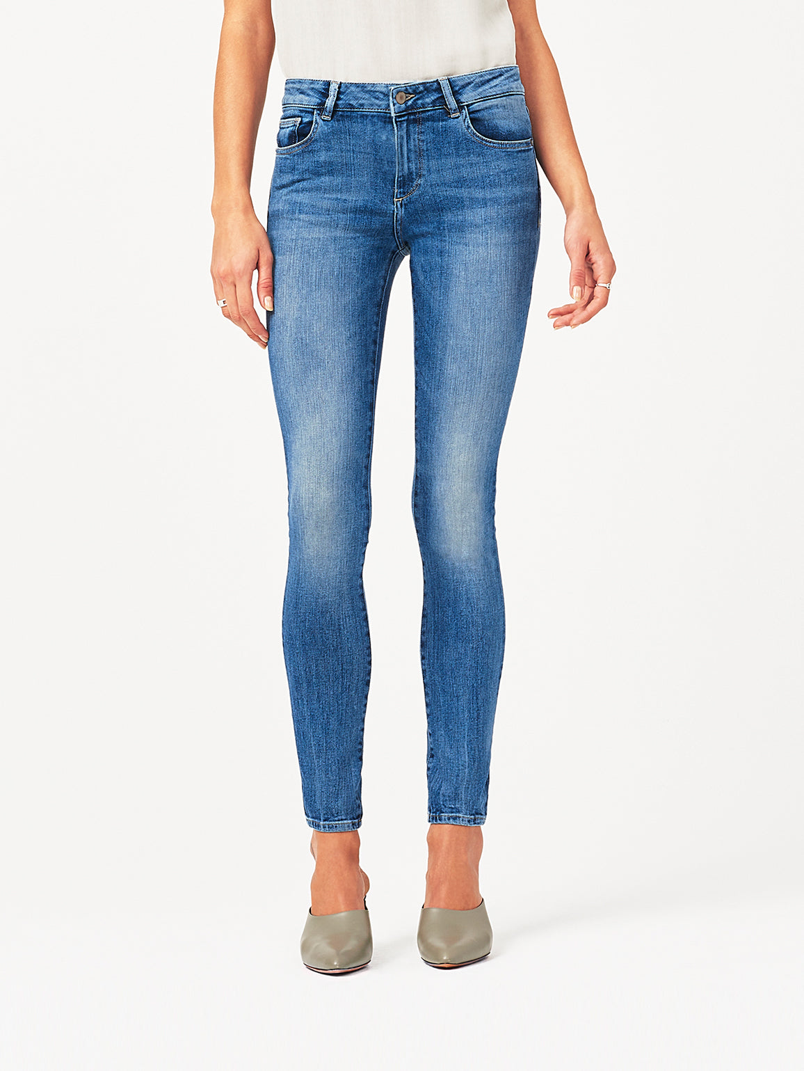 Florence Mid Rise Skinny | Wells