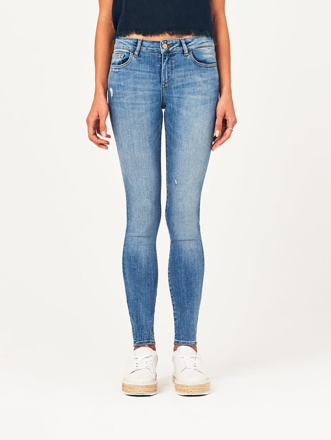 Florence Mid Rise Skinny Delano