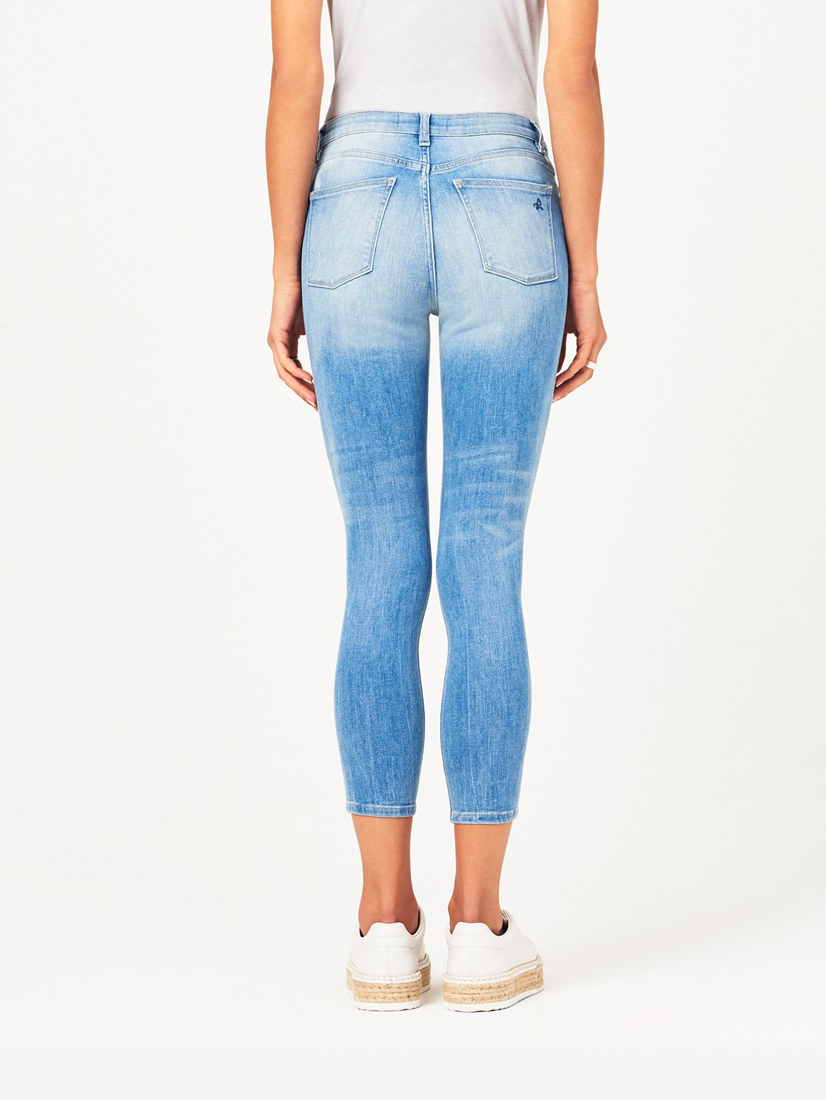 Chrissy Ultra High Rise Skinny | Walker DL 1961 Denim