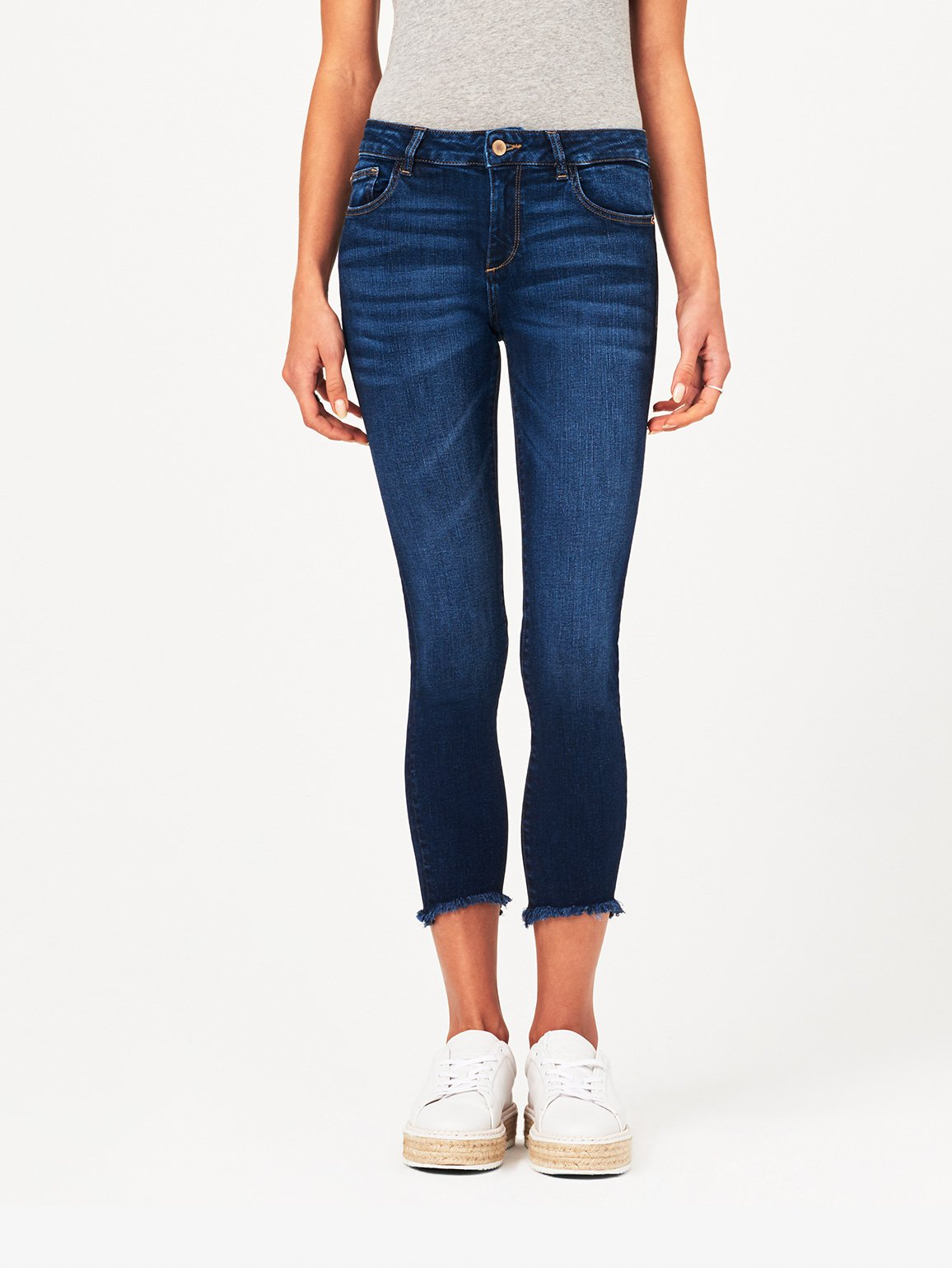 Image of Florence Crop Mid Rise Skinny / Ralston