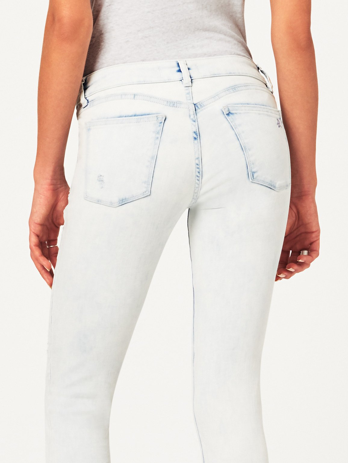 Florence Crop Mid Rise Skinny | Mitchell DL 1961 Denim