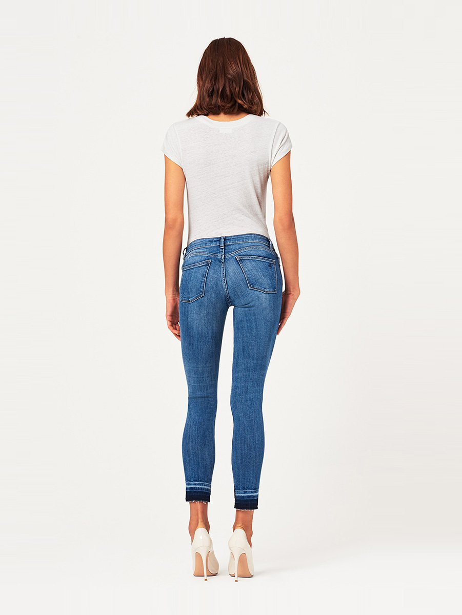 Margaux Mid Rise Ankle Skinny | Costa Mesa DL1961 Denim