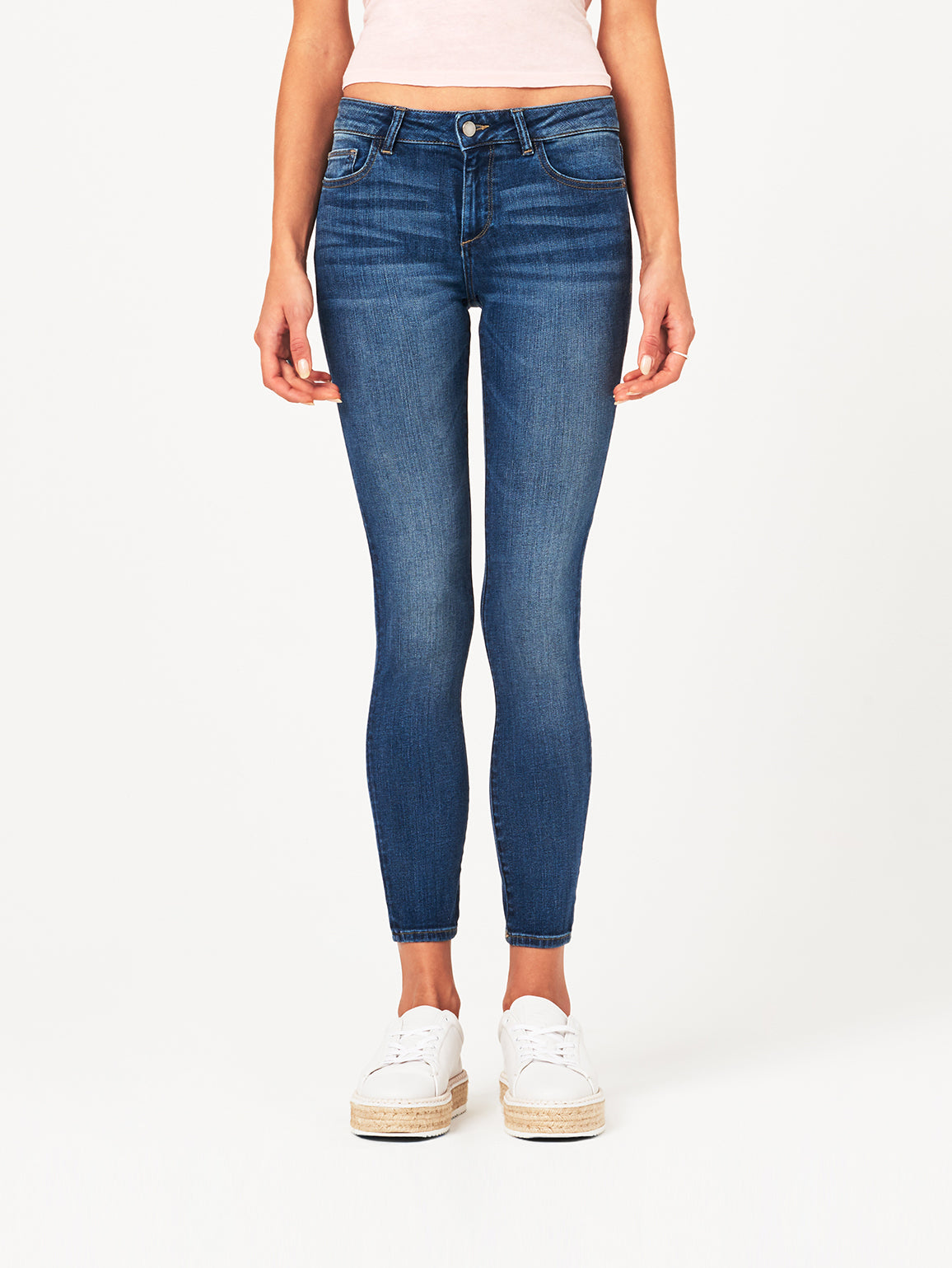 Image of Margaux Mid Rise Ankle Skinny / Paramount