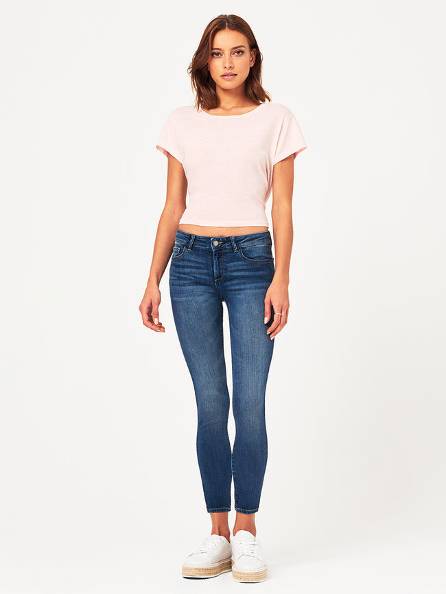 Margaux Mid Rise Ankle Skinny Paramount