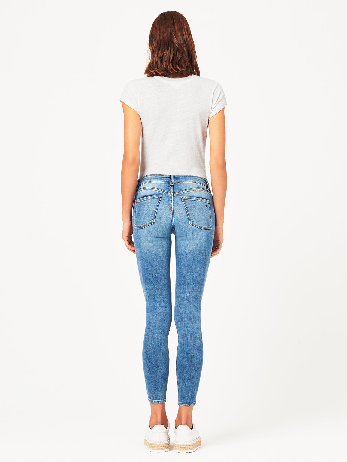 Margaux Mid Rise Ankle Skinny | Quincy DL 1961 Denim