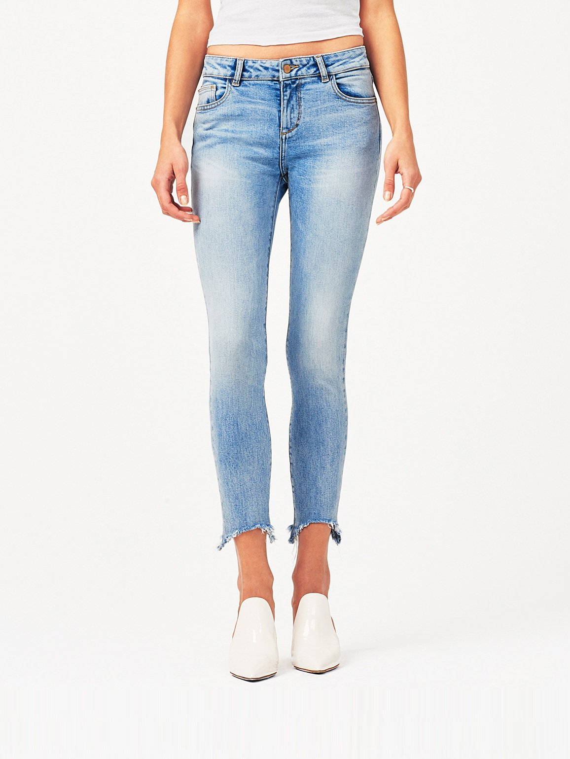 Image of Margaux Mid Rise Ankle Skinny / Promenade