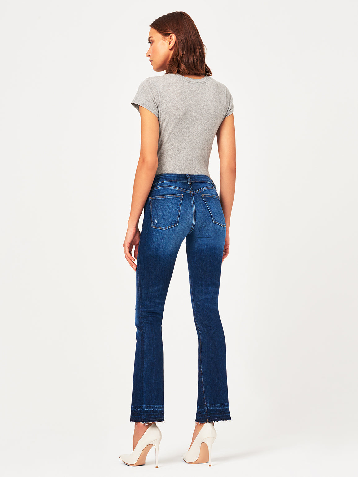 Bridget Mid Rise Bootcut 33"