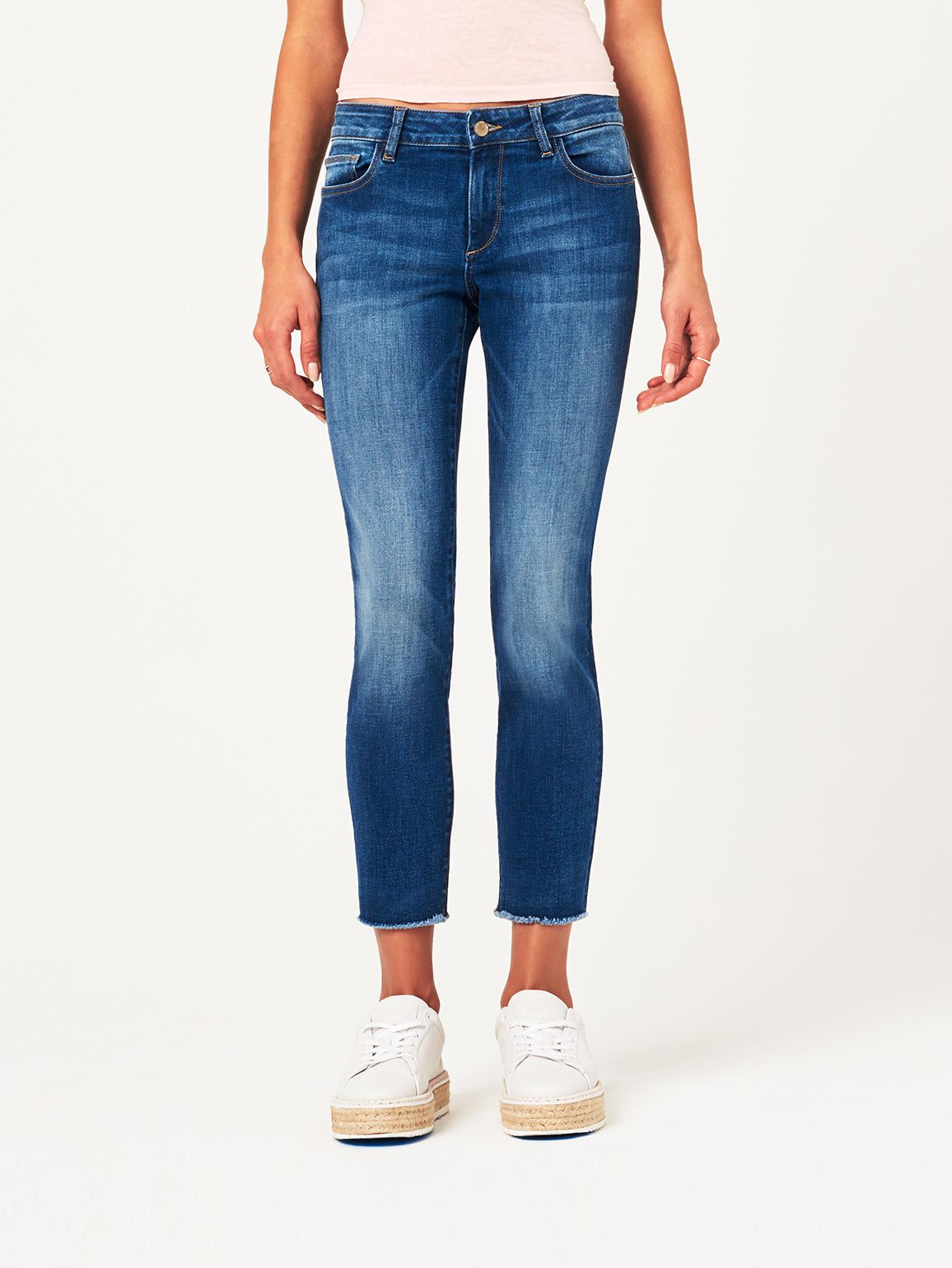Image of Coco Mid Rise Curvy Ankle Skinny / Callahan