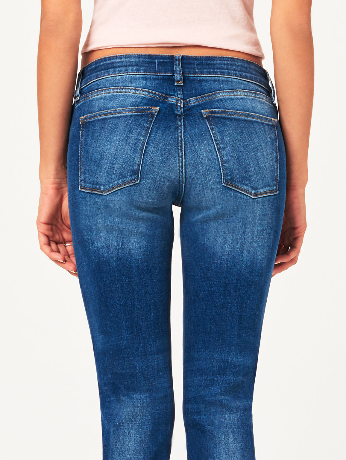 Coco Mid Rise Curvy Ankle Skinny Callahan