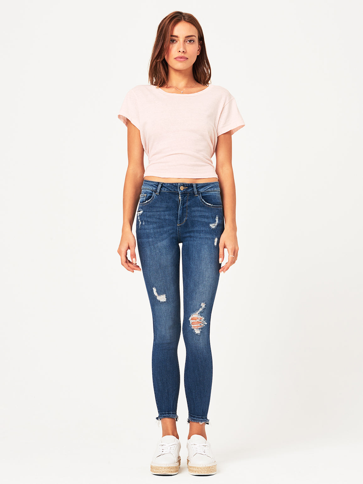 Farrow High Rise Skinny | Crater Lake DL 1961 Denim