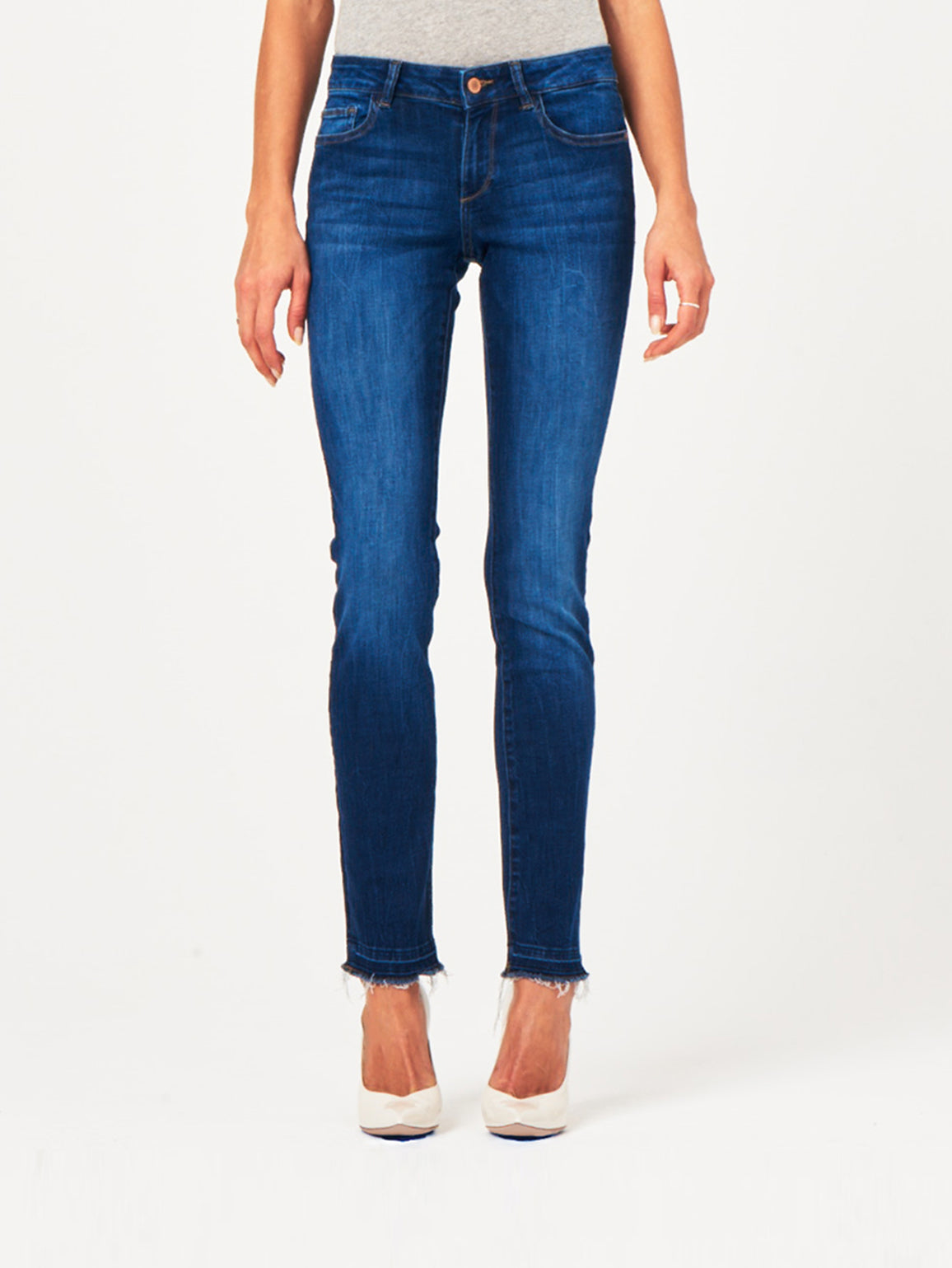 Image of Coco Mid Rise Curvy Straight / Parsons