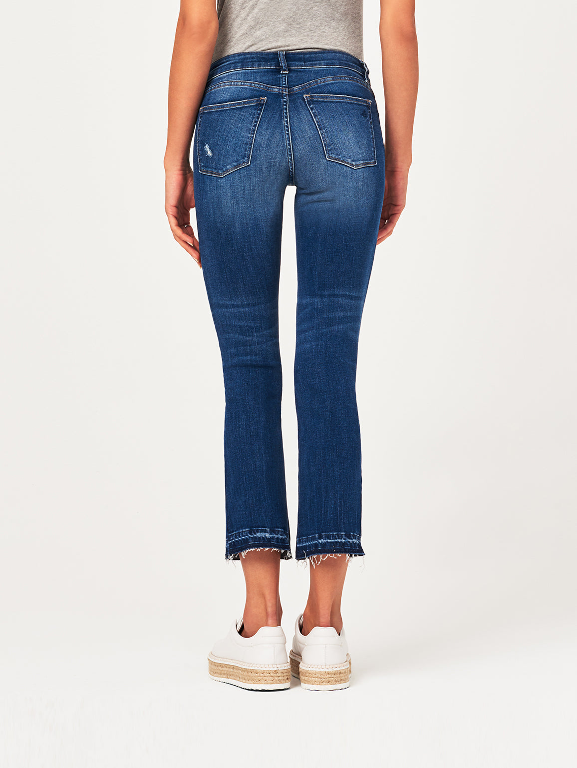Lara Mid Rise Cropped Flare | Elmwood DL 1961 Denim