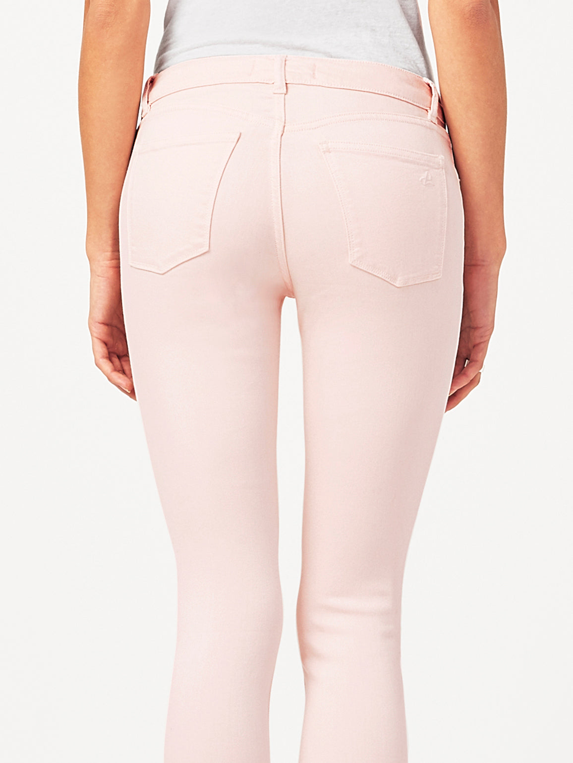 Florence Crop Mid Rise Skinny | Blush Pink DL 1961 Denim