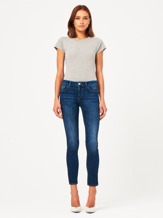 Angel Mid Rise Skinny | Rockwell DL 1961 Denim