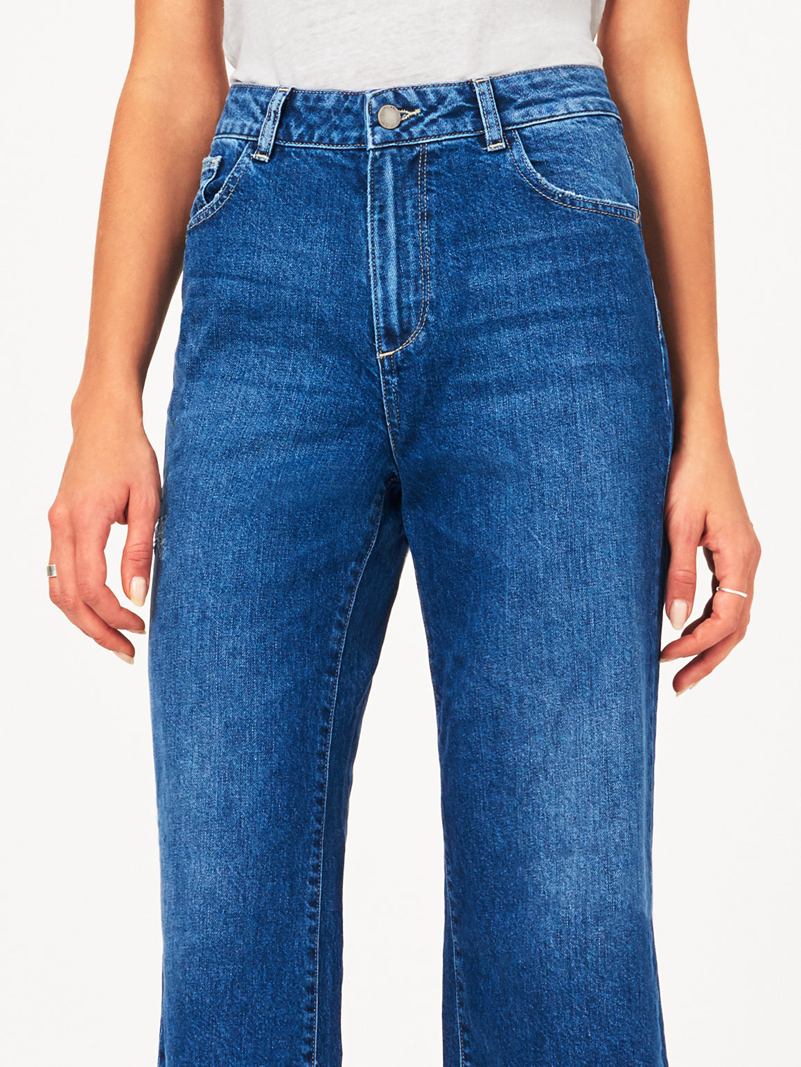 Hepburn High Rise Wide Leg | Goldfield DL 1961 Denim