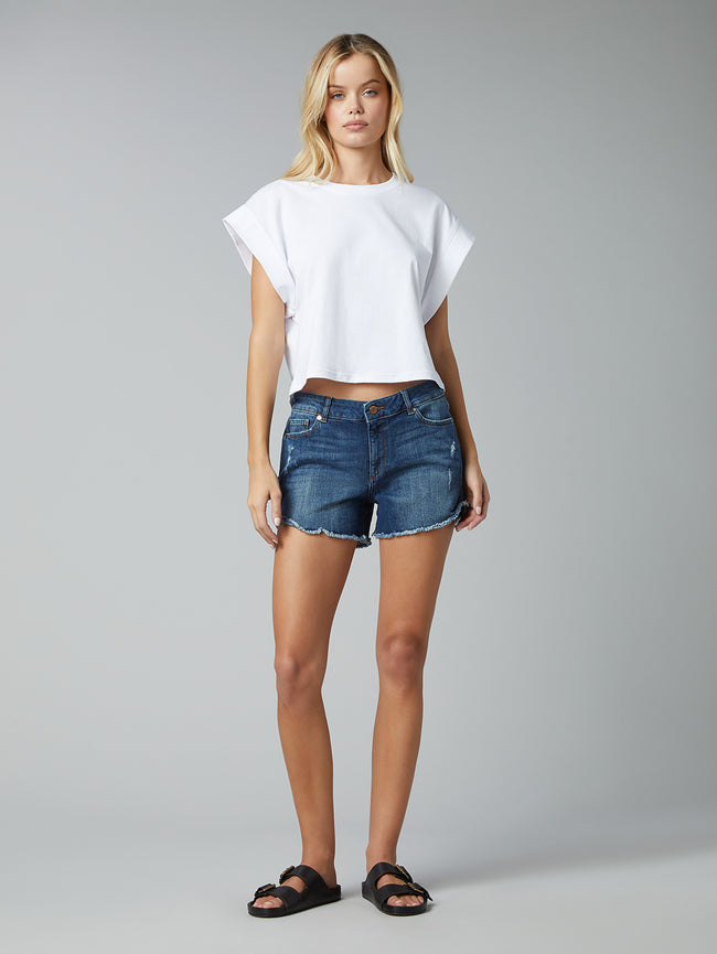 Karlie Boyfriend Short | Bluegrass