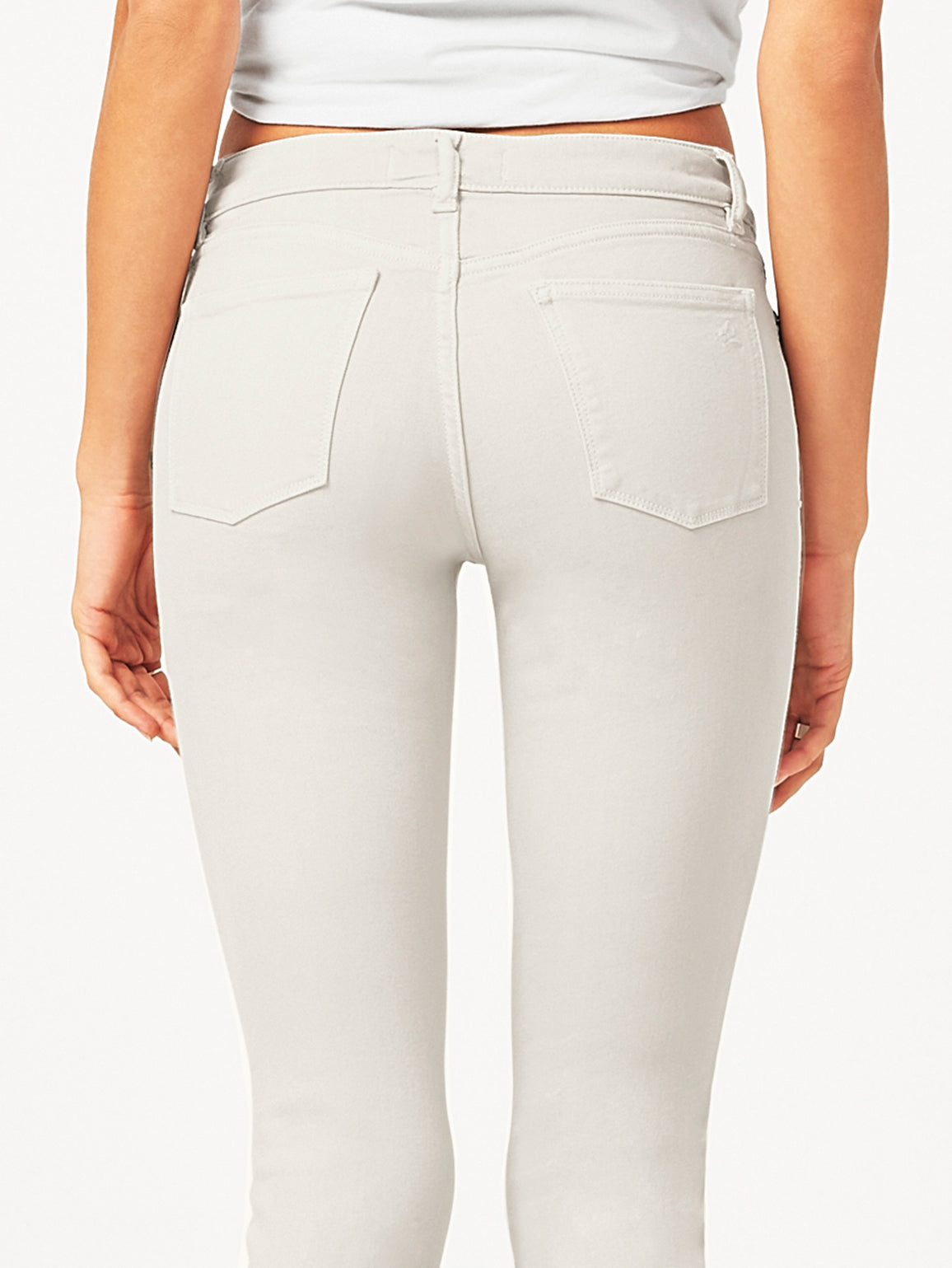 Florence Crop Mid Rise Skinny | Bone DL 1961 Denim