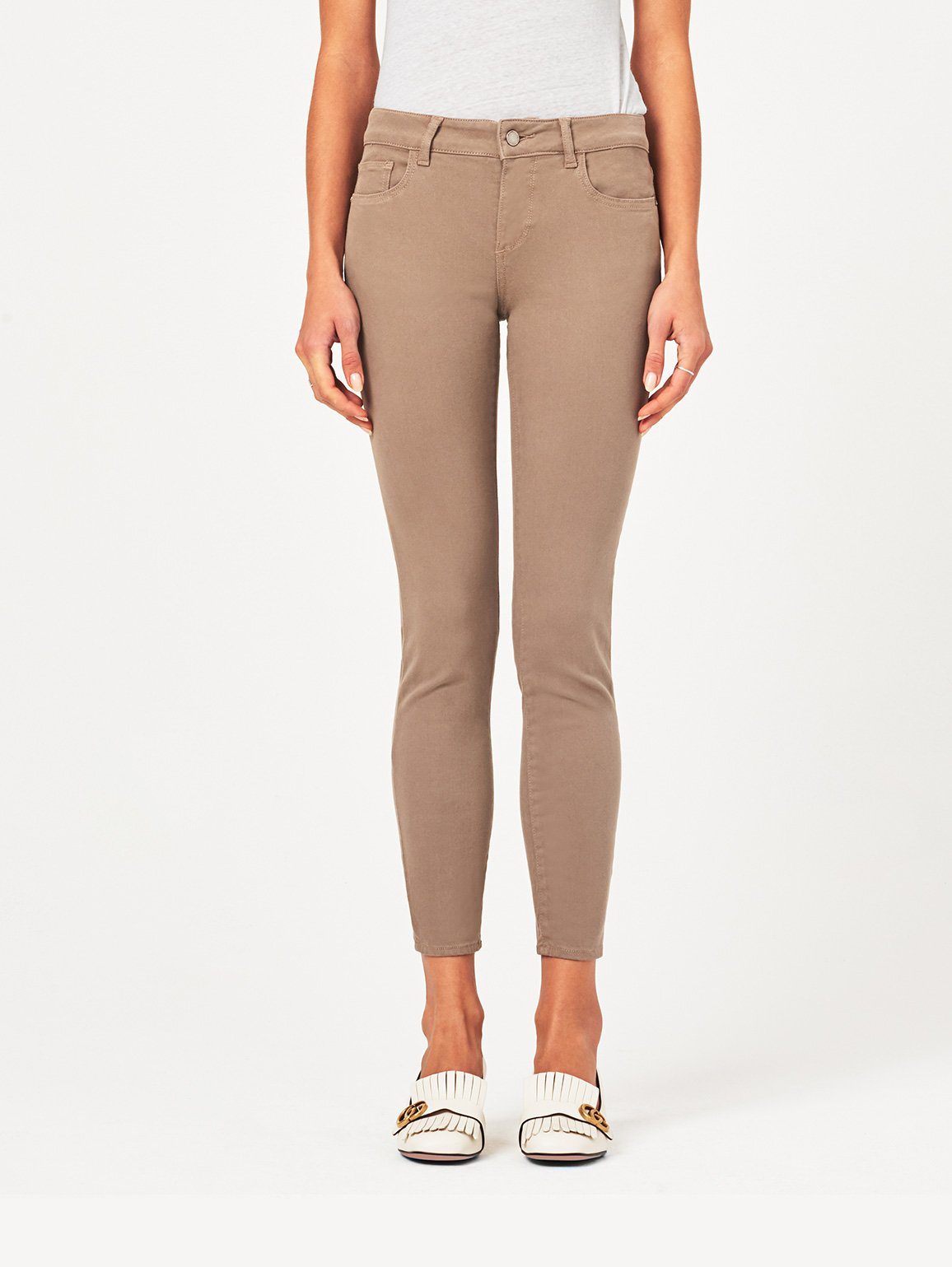Image of Margaux Mid Rise Ankle Skinny / Cannon