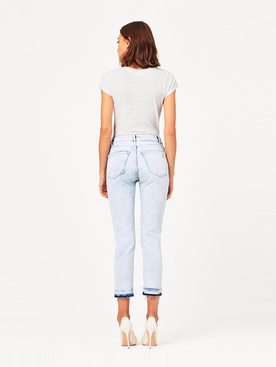Bella Crop High Rise Vintage Slim Bayfield