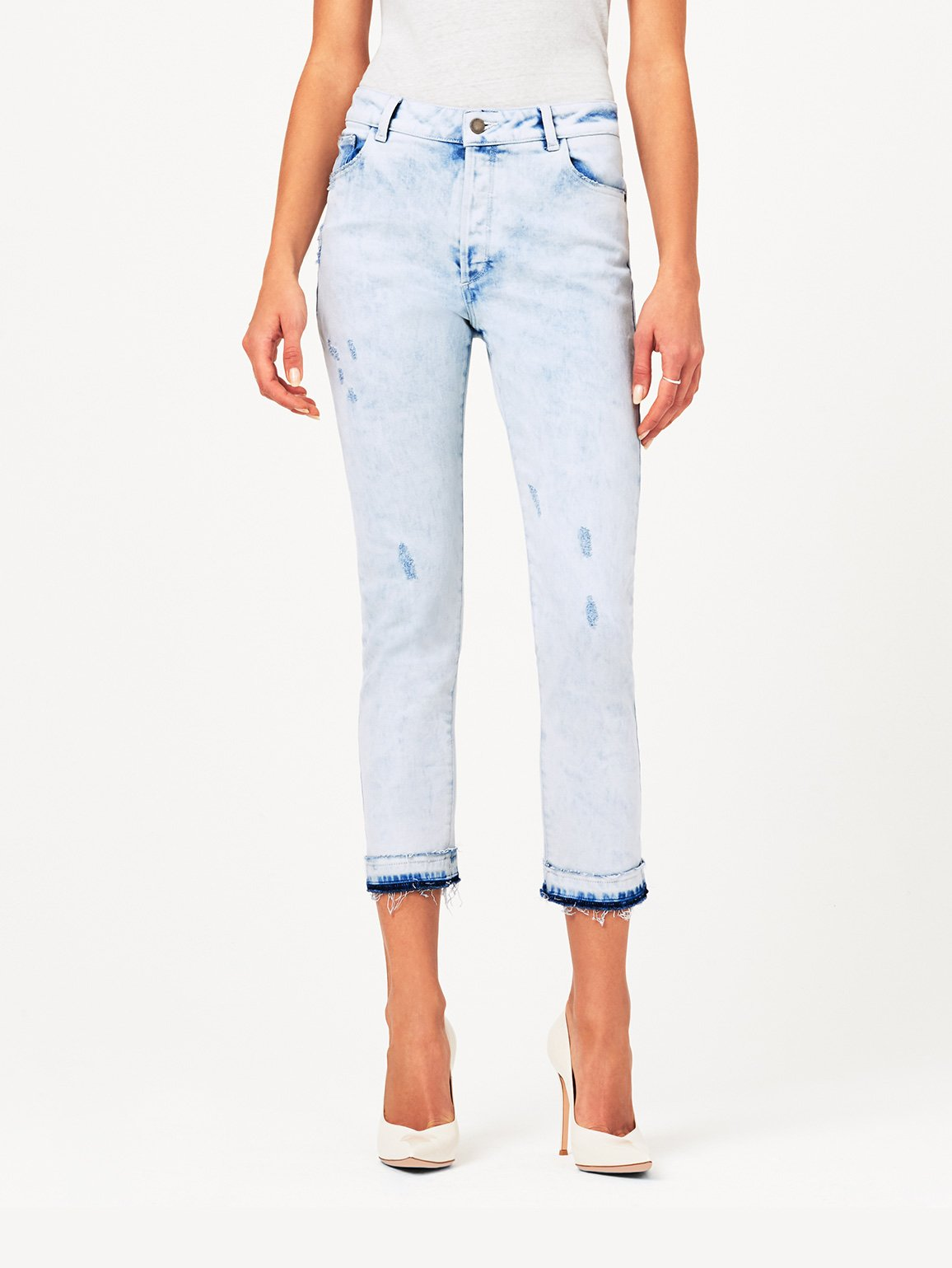 Bella Crop High Rise Vintage Slim | Bayfield DL 1961 Denim