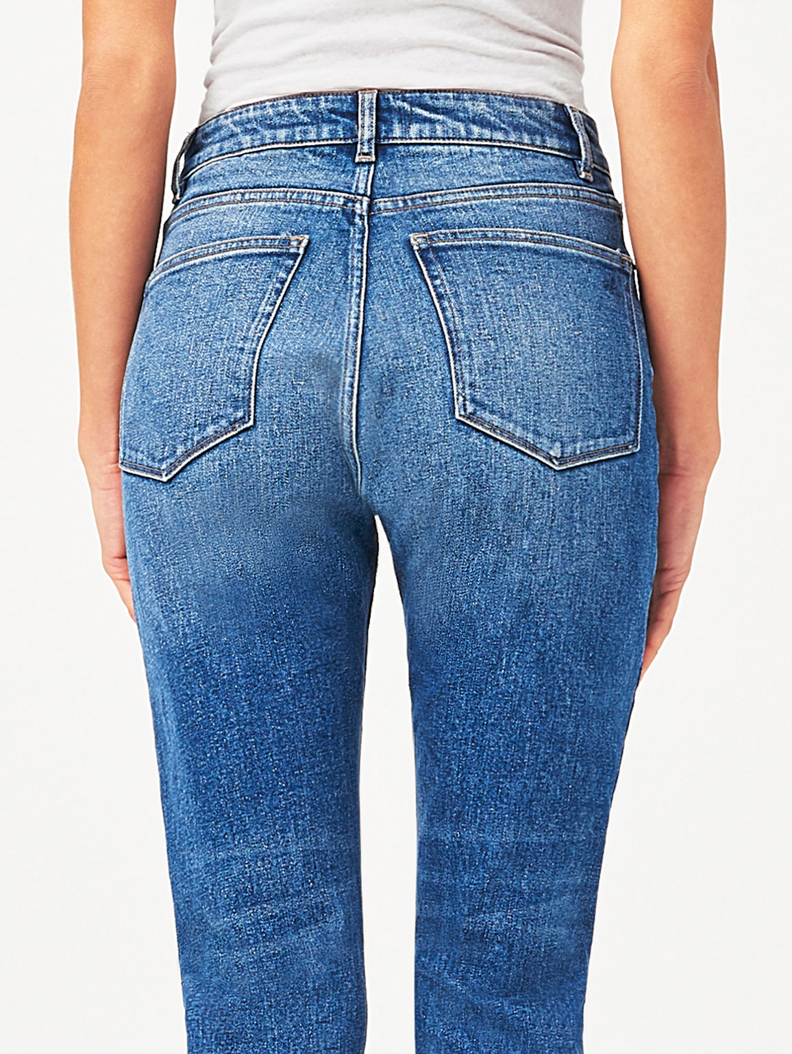 Bella Crop High Rise Vintage Slim | Grandview DL 1961 Denim