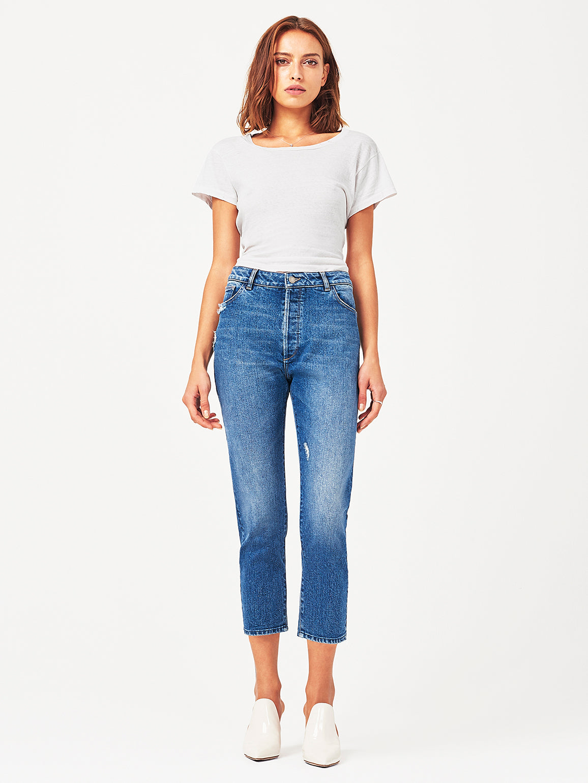Bella Crop High Rise Vintage Slim Grandview