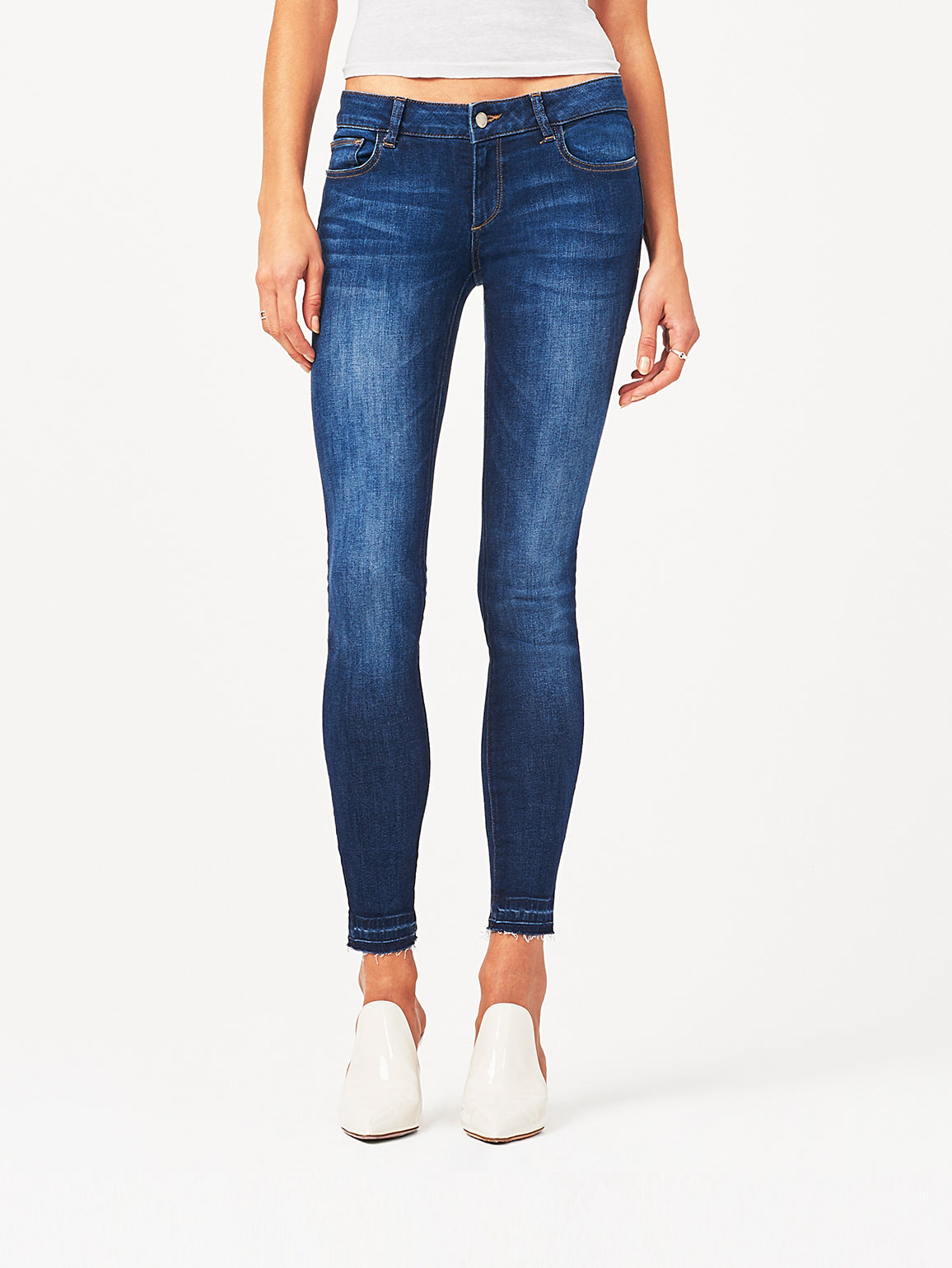 Image of Cameron Low Rise Skinny / Eden