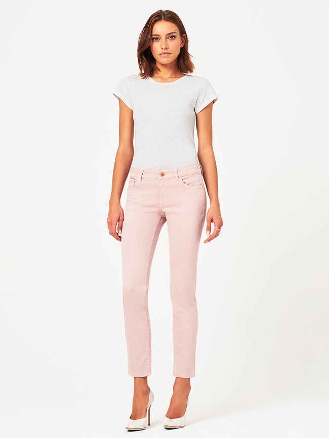 Angel Mid Rise Skinny | Desert Rose DL 1961 Denim