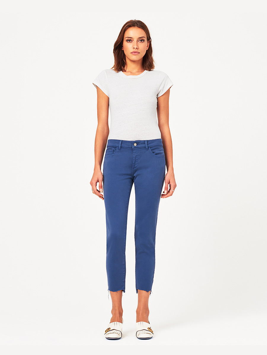 Florence Crop Mid Rise Skinny | Bluebell DL 1961 Denim