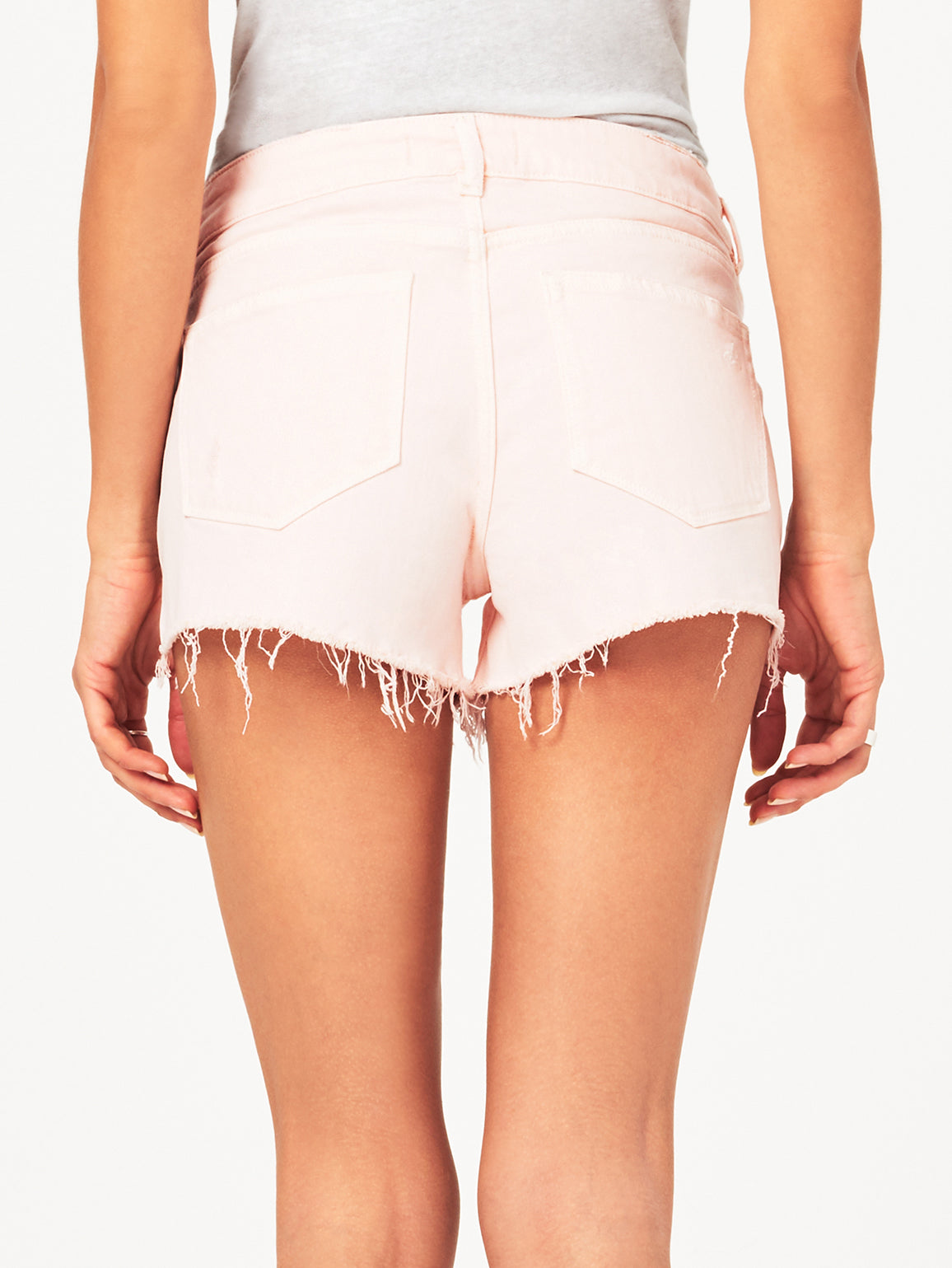 Renee Low Rise Short | Blush Pink DL 1961 Denim