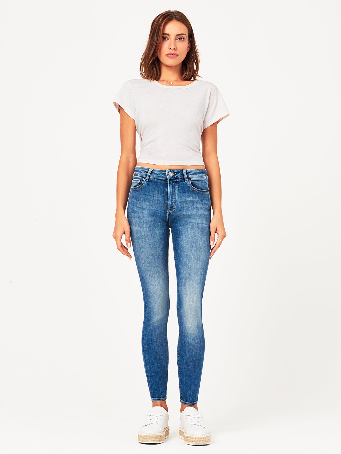 Farrow High Rise Skinny | Wells DL 1961 Denim