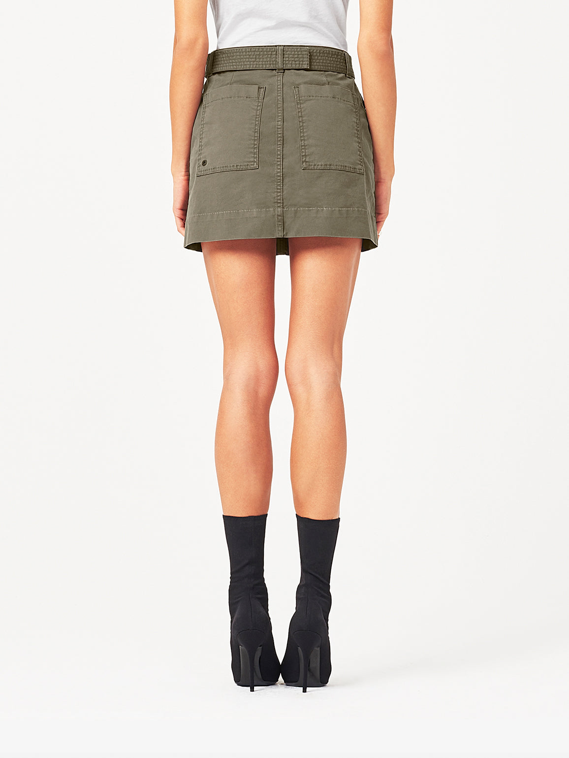 Parker High Rise Mini Skirt | Driftless DL 1961 Denim
