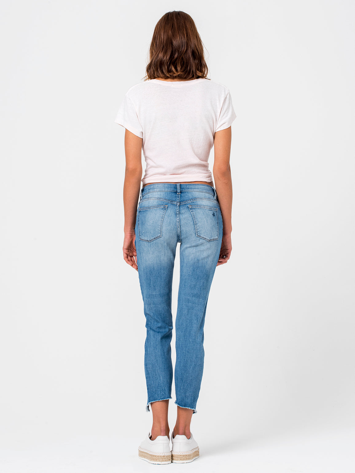 Florence Crop Mid Rise Skinny | New Town DL 1961 Denim