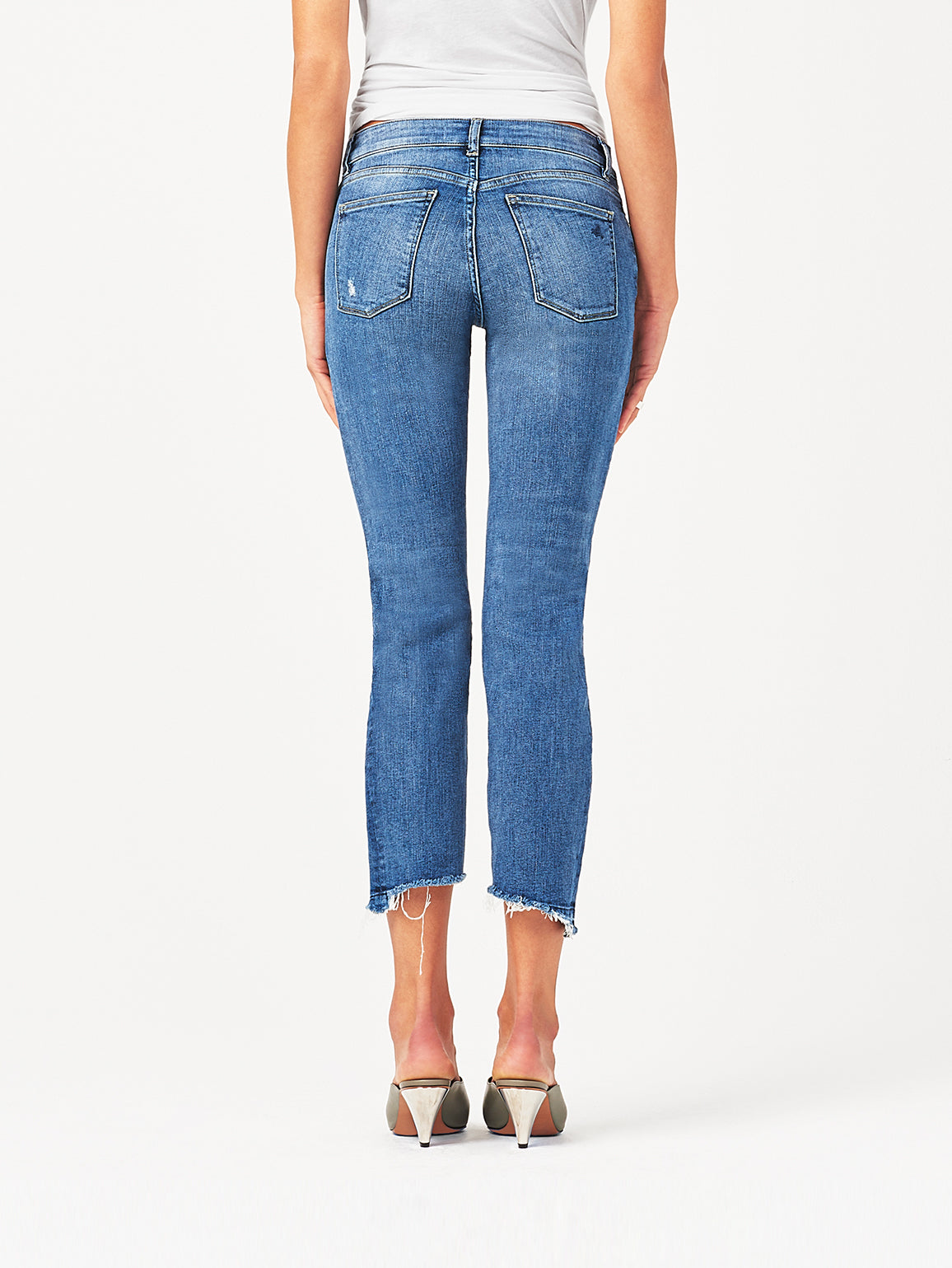 Mara Ankle Mid Rise Straight | Castlewood DL 1961 Denim